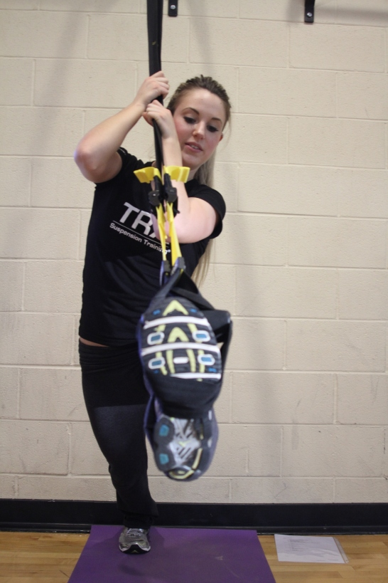 TRX Demo, featured at Spring Into Fitness